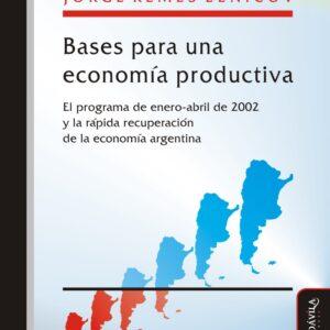 Bases para una economía productiva