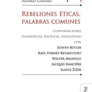 Rebeliones éticas, palabras comunes