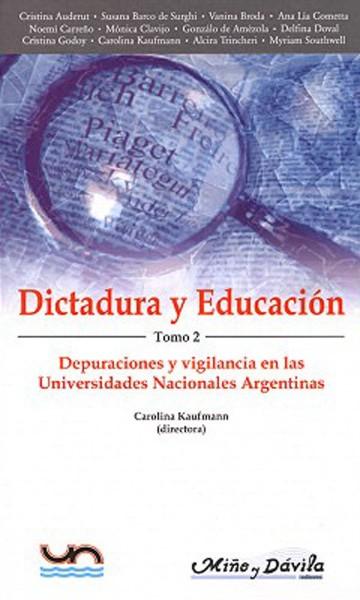 Dictadura y educación. Tomo 2