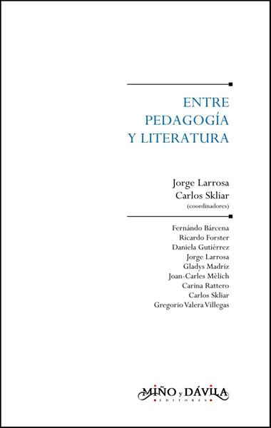 Entre pedagogía y literatura