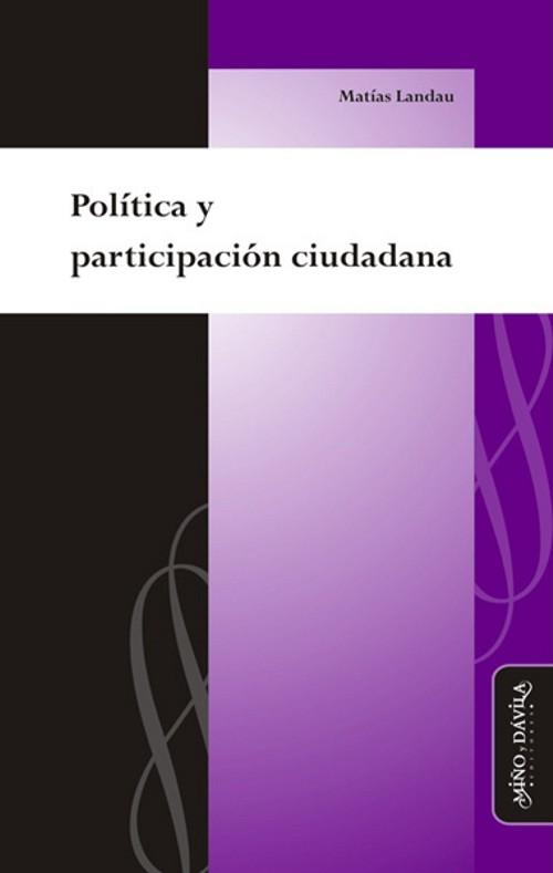Política y participación ciudadana